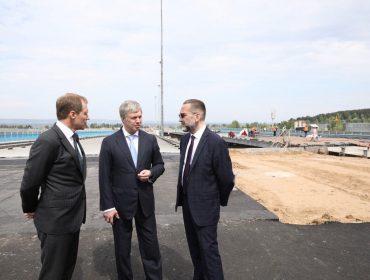Сенаторы из столицы обещали помочь Ульяновску с набережной и укреплением берегов Волги